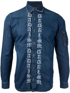 embroidered denim shirt Christian Dada