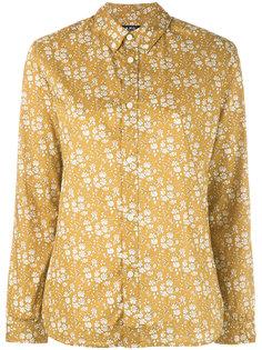 Diane floral-print shirt A.P.C.