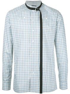 клетчатая рубашка Raf Simons
