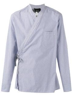 рубашка в полоску с цветочным принтом  3.1 Phillip Lim