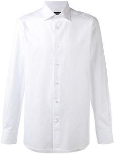 рубашка на пуговицах Ermenegildo Zegna