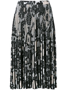 floral-print pleated skirt Christian Wijnants