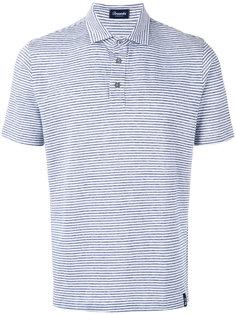 полосатая рубашка-поло Drumohr