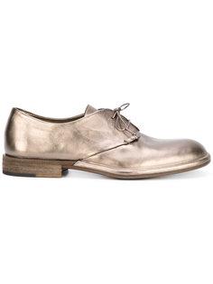 ботинки Дерби с отделкой металлик Roberto Del Carlo