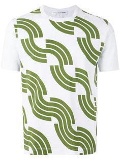 футболка с геометрическим узором Comme Des Garçons Shirt