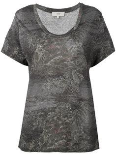 футболка с цветочным принтом Vanessa Bruno Athé