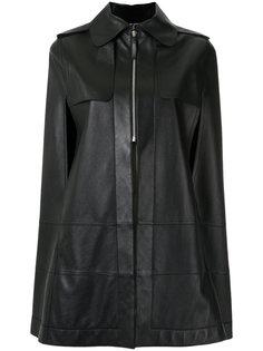 leather cape Gloria Coelho