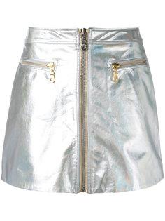 мини-юбка с застежкой-молнией Kenzo