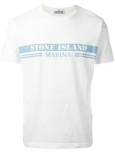 logo print T-shirt Stone Island