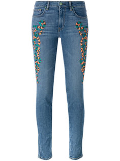 embroidered skinny jeans Sandrine Rose