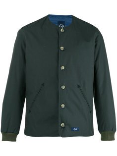 buttoned bomber jacket  Bleu De Paname