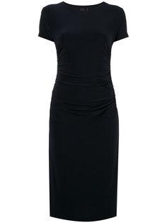 shirred waist shortsleeved dress Norma Kamali