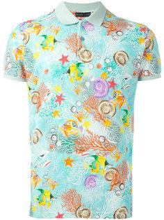 футболка-поло с принтом Etro