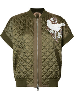 quilted bomber jacket Nº21