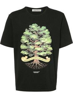 футболка с принтом дерева Undercover
