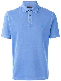 рубашка-поло с логотипом Z Zegna