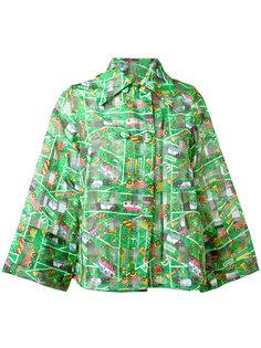 укороченная куртка с принтом Transport  Ultràchic