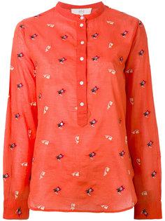 блузка хенли с вышивкой Vanessa Bruno Athé