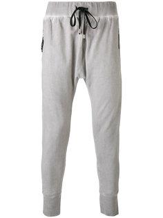 drop crotch track pants Unconditional