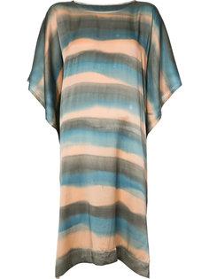 платье-футболка в полоску Raquel Allegra