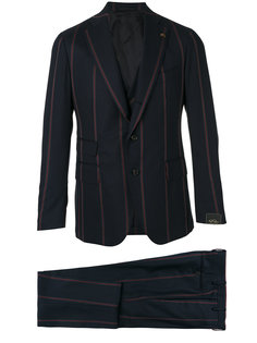 striped three-piece suit  Gabriele Pasini