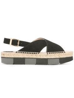 sling-back platform sandals Paloma Barceló