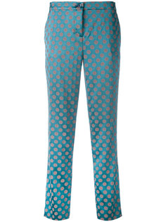 укороченные брюки с геометрическим узором Etro