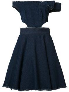 strapless cut out dress Natasha Zinko