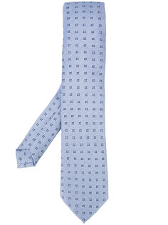 printed tie  Isaia