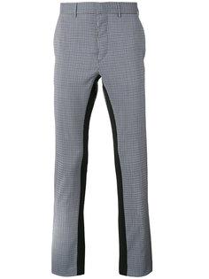 брюки в клетку Prada
