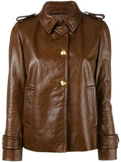 куртка с эполетами Miu Miu