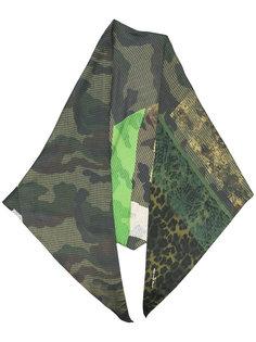 multi-print scarf Pierre-Louis Mascia