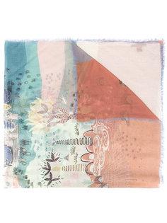 шарф с рисунком Volcano Valentino