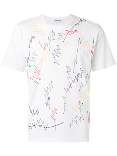 embroidered scribble T-shirt Jimi Roos