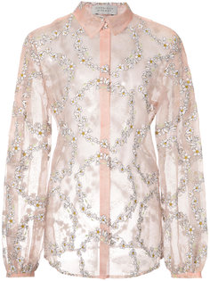 daisy chain sheer blouse Gabriela Hearst
