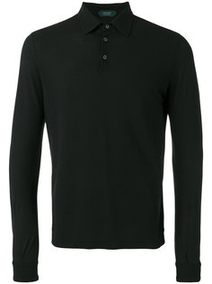 long sleeve polo shirt Zanone