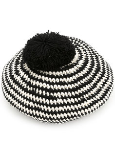 striped Author beret 7Ii