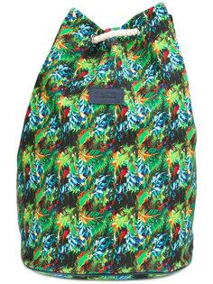 tropical print backpack Fefè