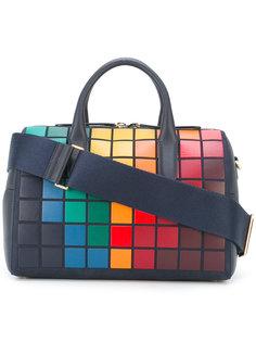объемная сумка с геометрическим принтом Anya Hindmarch
