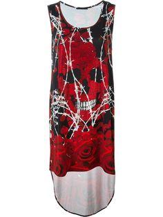 платье Rosea Garden  Philipp Plein