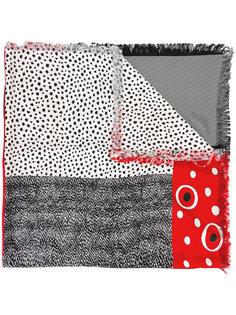 шарф с рисунком из точек Pierre-Louis Mascia