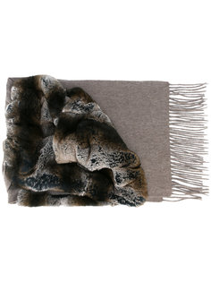 variated rabbit fur scarf N.Peal