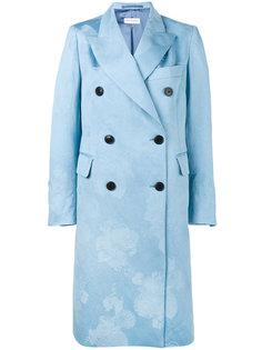 двубортное пальто Dries Van Noten