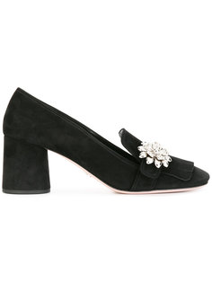 туфли с блестящей отделкой Prada