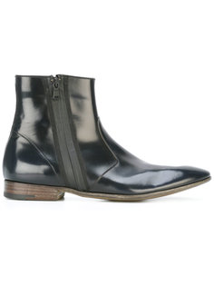 Book Brass zipped boots Premiata