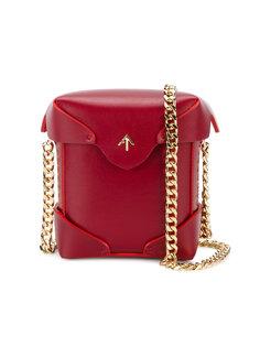 Micro Pristine gold chain bag Manu Atelier