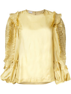 блузка шифт с оборками Dries Van Noten