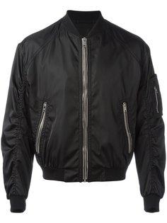 классическая куртка-бомбер Prada