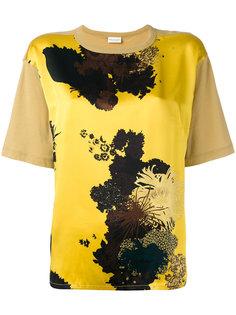 блузка с абстрактным принтом Dries Van Noten