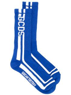 носки вязки-интарсия Gcds